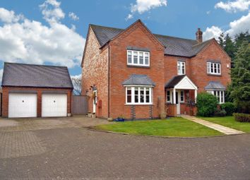 Thumbnail 6 bed detached house for sale in Sutton Lane, Broughton Astley, Leicester