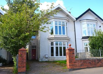 Thumbnail 5 bed semi-detached house for sale in Eaton Crescent, Swansea