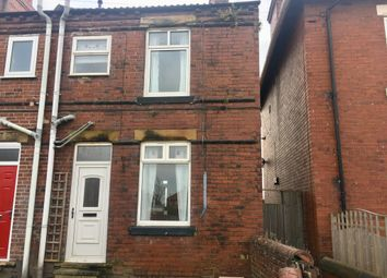 Thumbnail 2 bed end terrace house for sale in Weeland Road, Sharlston Common, Wakefield