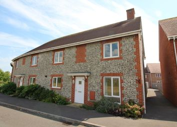 Thumbnail 4 bed semi-detached house for sale in Fourteen Acre Avenue, Felpham, Bognor Regis