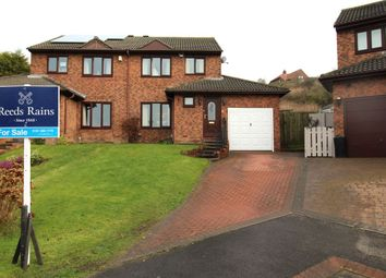 Thumbnail 3 bed semi-detached house for sale in Lynton Court, Houghton Le Spring