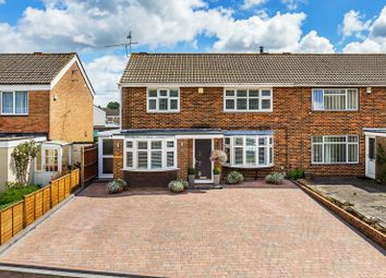 Thumbnail 4 bed semi-detached house for sale in Greenacres, Crawley