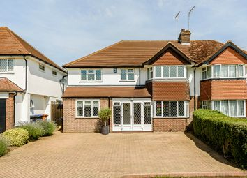 Thumbnail 5 bedroom semi-detached house for sale in Moffats Lane, Brookmans Park, Hatfield
