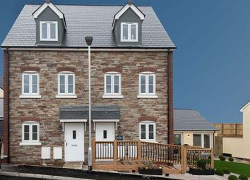 Thumbnail 3 bedroom semi-detached house for sale in Off Gilbert Road, Bodmin, Cornwall