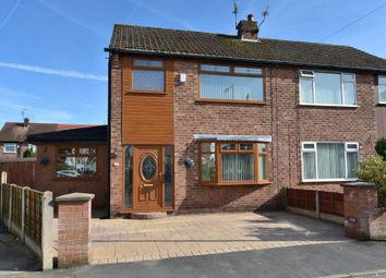 Thumbnail 3 bed semi-detached house for sale in Elder Close, Offerton, Stockport