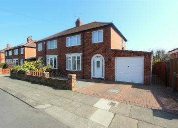 Thumbnail 3 bed semi-detached house to rent in Swaledale Avenue, Darlington