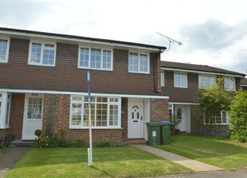 Thumbnail 3 bed terraced house to rent in Trenchard Close, Hersham, Walton-On-Thames, Surrey