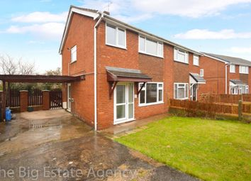 Thumbnail 3 bed semi-detached house for sale in Bryn Awelon, Buckley