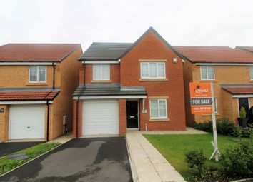 Thumbnail 4 bed detached house for sale in Hanover Crescent, Shotton