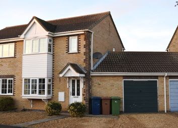 Thumbnail 3 bedroom semi-detached house for sale in Moorhen Road, Whittlesey, Peterborough