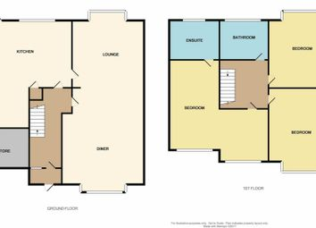 Thumbnail 3 bed semi-detached house for sale in Colindale Avenue, Birstall