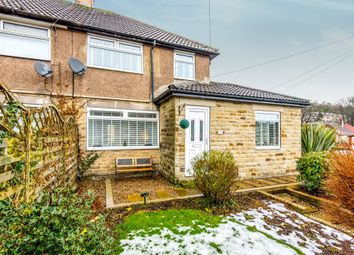 Thumbnail 2 bed semi-detached house for sale in Meadow Lane, Wheatley, Halifax