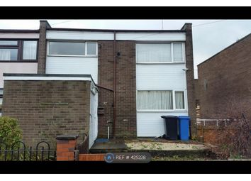 Thumbnail 3 bed end terrace house to rent in Badger Drive, Sheffield
