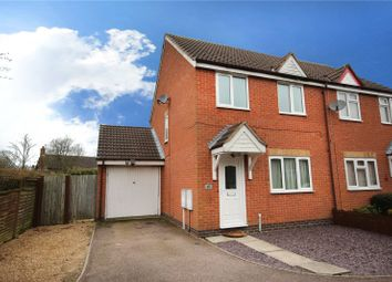 Thumbnail 3 bed semi-detached house to rent in Trefoil Close, Hamilton, Leicester, Leicestershire