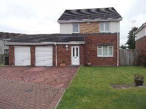 Thumbnail 4 bed detached house to rent in Osprey Crescent, Paisley