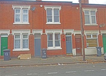 Thumbnail 2 bedroom terraced house for sale in Cranmer Street, Leicester