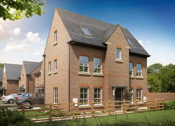 "Thumbnail 4 bed detached house for sale in ""Hexham"" at Rykneld Road, Littleover, Derby"