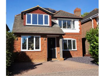 Thumbnail 4 bed detached house for sale in Huson Road, Bracknell