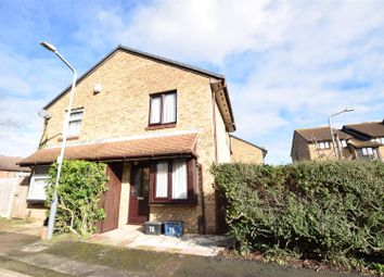 Thumbnail 1 bed semi-detached house for sale in Pedley Road, Chadwell Heath, Romford