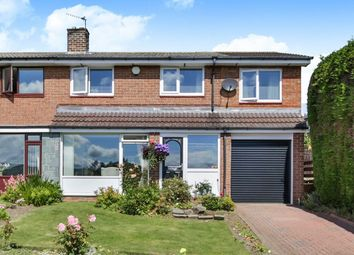 Thumbnail 4 bed semi-detached house for sale in Sherburn Park Drive, Rowlands Gill