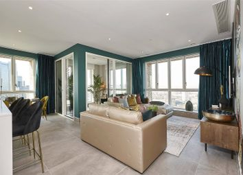 Thumbnail 3 bed flat for sale in The Navigator, Blackwall Reach, London