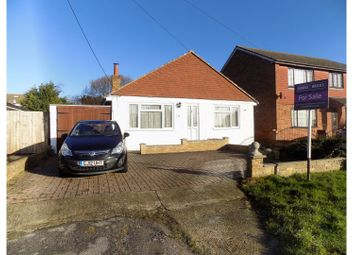 Thumbnail 4 bed detached bungalow for sale in Drake Avenue, Sheerness