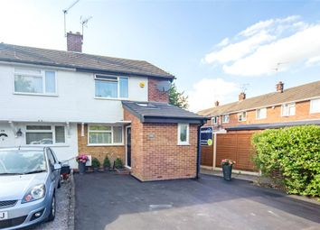 Thumbnail 2 bedroom end terrace house for sale in Headley Road East, Woodley, Reading
