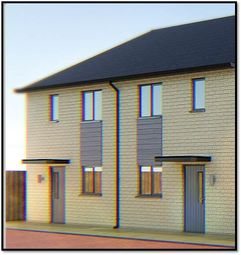 Thumbnail 2 bed semi-detached house for sale in Plot 3 Spire View, Whittlesey, Peterborough