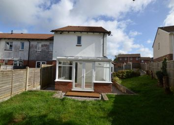 Thumbnail 2 bed end terrace house for sale in Holloway Gardens, Plymouth, Devon