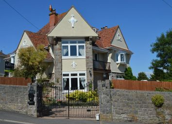 Thumbnail 5 bed detached house for sale in Manor Road, Weston-Super-Mare