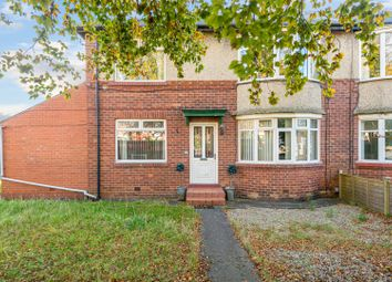 Thumbnail 3 bed flat for sale in Benton Road, High Heaton, Newcastle Upon Tyne