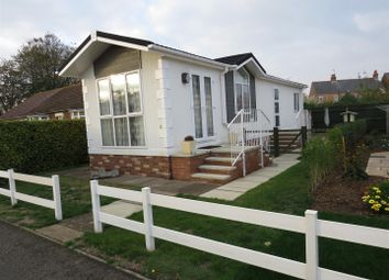 Thumbnail 2 bed mobile/park home for sale in Station Road, Snettisham, King's Lynn