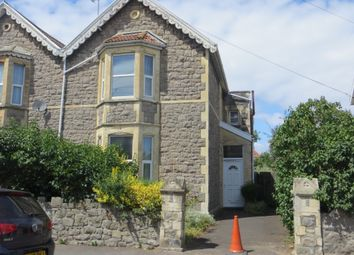 Thumbnail 3 bed semi-detached house for sale in Moorland Road, Weston Super Mare