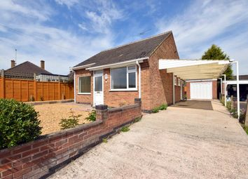 Thumbnail 2 bed detached bungalow for sale in Meadow Close, Barrow Upon Soar, Loughborough