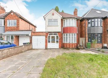 3 bed detached house for sale in Coverdale Road, Solihull, West Midlands B92