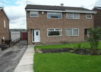 Thumbnail 3 bed semi-detached house for sale in Harwill Rise, Churwell, Morley, Leeds