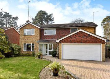 Thumbnail 4 bed detached house for sale in Robin Lane, Sandhurst, Berkshire