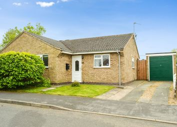 Thumbnail 2 bed bungalow for sale in Wilton Close, Oadby, Leicester