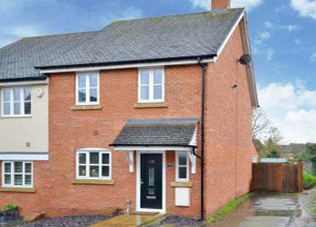 Thumbnail 3 bed semi-detached house for sale in Weavers Close, Dunmow, Essex