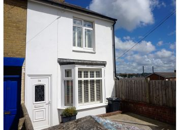 Thumbnail 2 bedroom end terrace house for sale in Arctic Road, Cowes