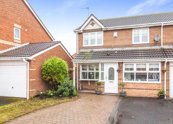 Thumbnail 3 bed semi-detached house for sale in Telford Close, Hartlepool