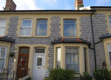 Thumbnail 3 bed terraced house for sale in Lower Morel Street, Barry