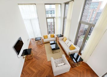 Thumbnail 3 bedroom flat to rent in Embassy Gardens, Capital Building, London SW8, London,