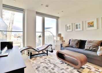 Thumbnail 1 bed flat for sale in Southbank Tower, Upper Ground, London
