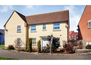 Thumbnail 3 bed semi-detached house for sale in Russell Close, Witham