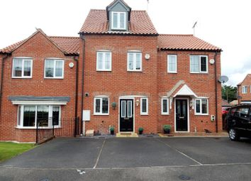 Thumbnail 3 bed town house for sale in Garbsen Court, Worksop