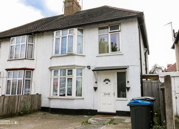 Thumbnail 3 bed semi-detached house to rent in East Lane, North Wembley