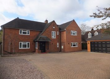 Thumbnail 4 bedroom detached house to rent in Knighton Road, Four Oaks, Sutton Coldfield