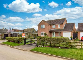 Thumbnail 4 bed detached house for sale in Stone Pit Lane, Marston, Grantham