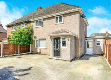Thumbnail 4 bed semi-detached house for sale in Artillery Row, Bodelwyddan, Rhyl